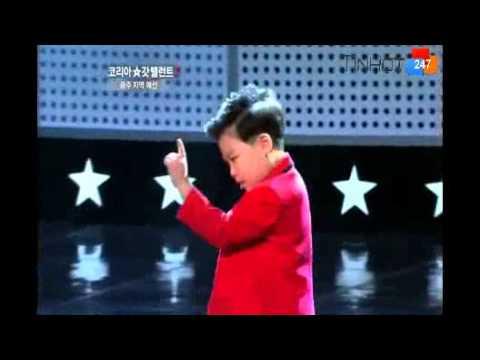 Sao nhí gốc Việt nhảy trong Gangnam Style - Đệ tử của Psy