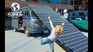 Man Creates Solar Powered VW Bus Camper. This Is Awesome!