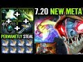BRAIN CANCER [Slark] Good Example Why This Is Best For 7.20 META Epic IMBA Carry Gameplay Dota 2