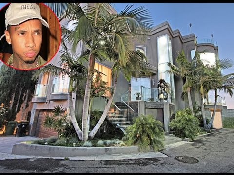 Tyga is Facing his Third Eviction in the last 2 Years for his Rented Mansion in the Hollywood Hills.