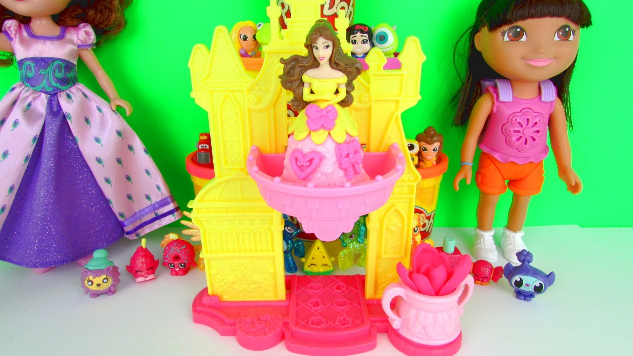 Disney Princess Play Doh Castle Play Doh Disney Princess
