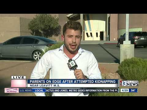 Parents on edge after attempted kidnapping
