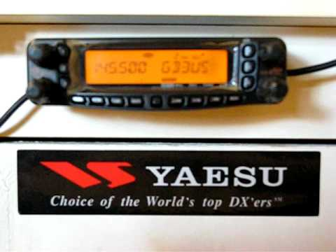 GB3US Sheffield UHF Repeater Part 3 of 3 On a Yaesu FT 8800R Dual Band FM ...