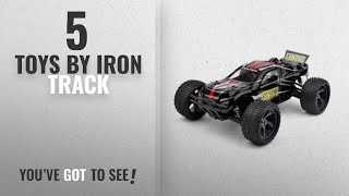 Top 10 Iron Track Toys [2018]: Iron Track RC Electric Centro 1:18 4WD Truggy Ready to Run (Black)