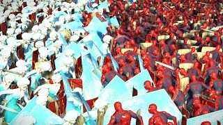 Spiderman Avenger VS Elsa - Massive Superheroes Battle - Spiderman VS Frozen Princess