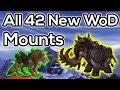 All 42 New Mounts in Warlords of Draenor