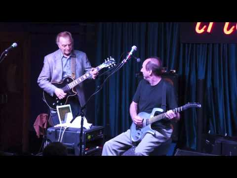 Adrian Belew and Tony Levin w Les Paul Trio At iridium (9/26/11)