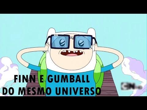 Finn e Gumball são do Mesmo Universo? || Teoria