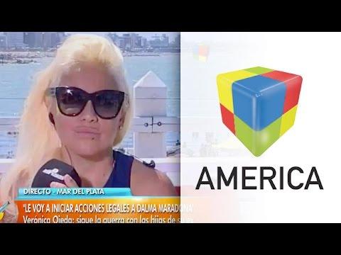 """Verónica Ojeda contra las Maradona: """"No van a poder borrarme"""""""