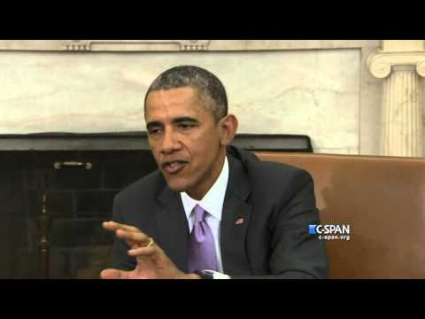 President Obama responds to Netanyahu's address to Congress (C-SPAN)