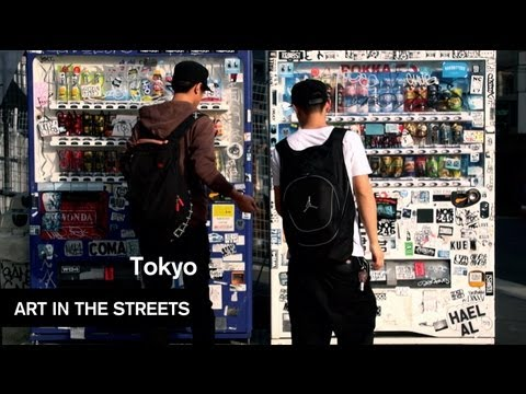Global Street Art - Tokyo - Art In The Streets - MOCAtv
