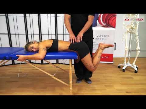 Becken heben - Manuelle und trainingstherapeutische Behandlung bei chronischen Rückenschmerzen