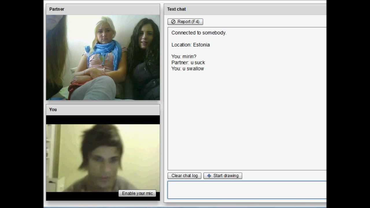 sex i chatroulette girl