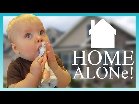 HOME ALONE! | Look Who's Vlogging: Daily Bumps (Episode 12)