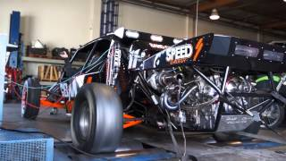 CBM Motorsports twin turbo charged 454 ci Warhawk on the dyno putting over 1300hp to the ground.wmv