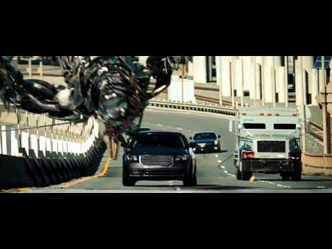 Transformers 3 Fight Scene   Highway Chase Hd 720p video