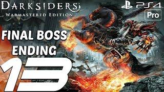 Darksiders Warmastered Edition - Gameplay Walkthrough Part 13 - Final Boss & Ending (PS4 PRO)