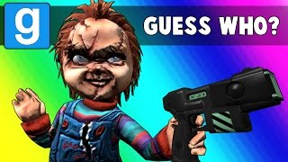 Gmod Guess Who Funny Moments - Horror Film Edition! (Garry