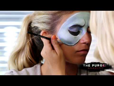 The Purge 2 Anarchy Halloween Makeup Tutorial | How To ...