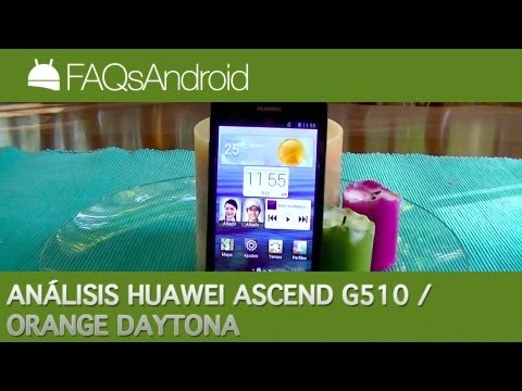 Análisis del Huawei Ascend G510 / Orange Daytona en español   FAQsAndroid.com