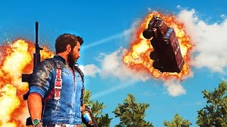 JUST CAUSE 3 FAILS: BEST MOMENTS! (JC3 Funny Moments Gameplay)