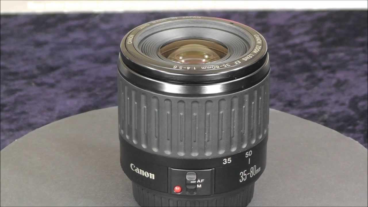 Canon Zoom Lens ef 35-80mm Canon Zoom Lens ef 35-80 mm 4