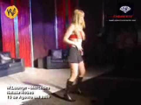 Natalia Rosas en W. Lounge Mercedes