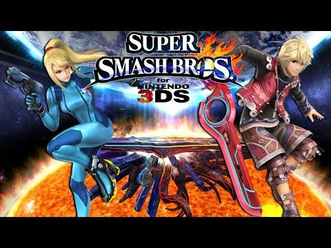 Super Smash Bros. for 3DS - Mega (Zero Suit Samus) vs Kyoko (Shulk)