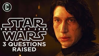 Star Wars: The Last Jedi - 3 Big Questions Raised From The Trailer