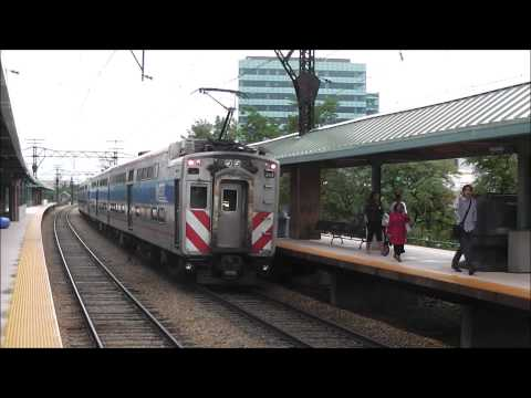 Trains at Hyde Park, Chicago, 06.24.13: CN, Metra Electric & South Shore Line