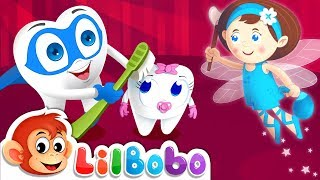 Brush Your Teeth Song Fun For Kids | Little BoBo Nursery Rhymes - FlickBox | Tooth Fairy