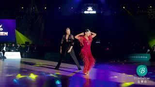 Cimen 2017 Superstar Showcase - Troels bager & Ina jeliazkova, ChaChaCha