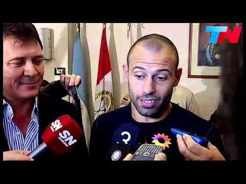 Escucha el fuerte respaldo de Mascherano para Sabella y Messi