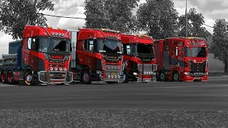 ITS GOOD TO BE BACK!! RIBPACK CONVOYS / ETS2 / TMP / JOIN US / GOPRO POV /