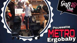 Poussette Metro de Ergobaby avec sa nacelle