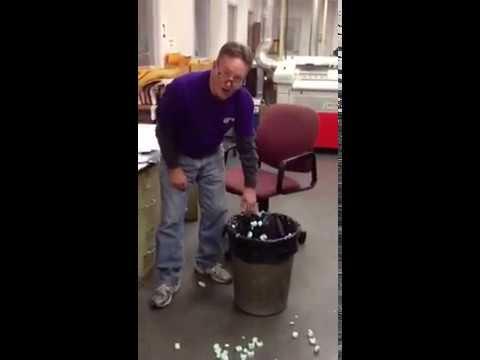 Magic trash can