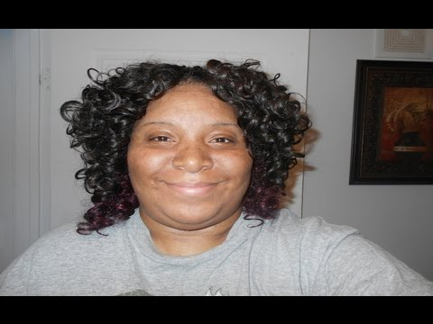 Curly Invisible Part Quick Weave 1 Month Update   Charming Wave Hair)