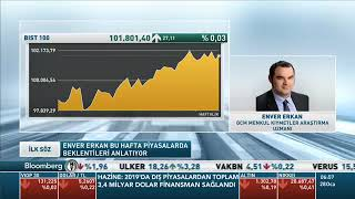 28.01.2019 - Bloomberg HT - Yatırım Bülteni - GCM Yatırım Araştırma Uzmanı Enver ERKAN #DOLAR