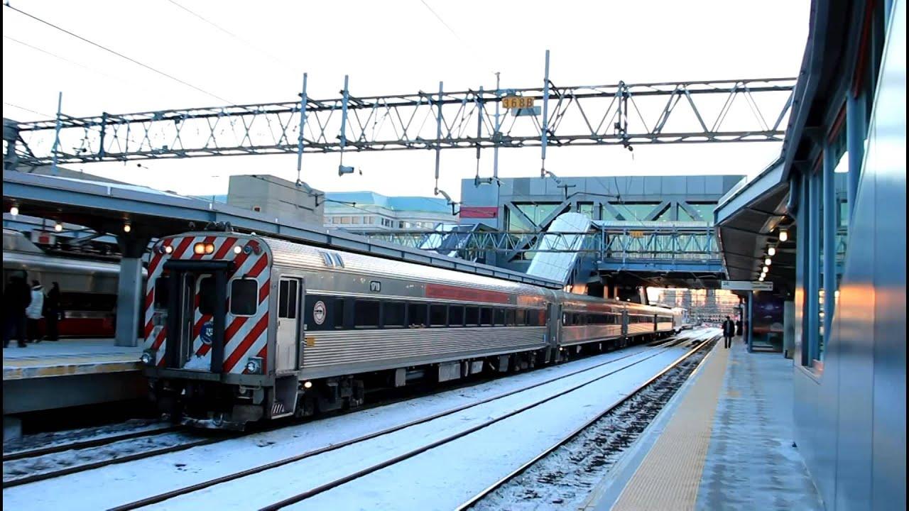 Shore Line East Train Ends