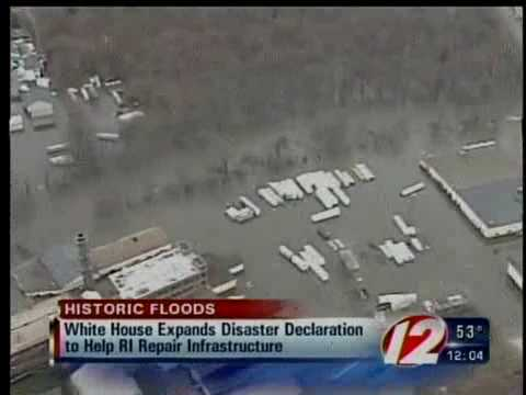 White House expands flood aid to RI