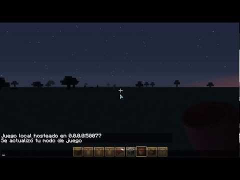 Minecraft: Como cambiar de modo Survival a / Creativo (1.5.2)