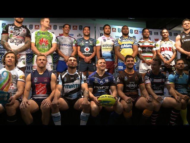 2015 NRL Auckland Nines jerseys unveiled