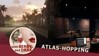 Atlas-Hopping in Linden Lab's Sansar with Berry & Drax - August 10th 2017