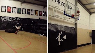 Student Performs Amazing Basketball Trick shots