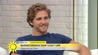 Barnstjärnan har blivit stor - så förbereder han en karriär i USA - Nyhetsmorgon (TV4)