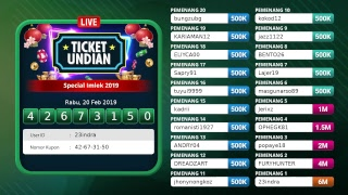 Undian lucky draw Live Streaming 7Meter Special IMLEK 2019 | 7METER