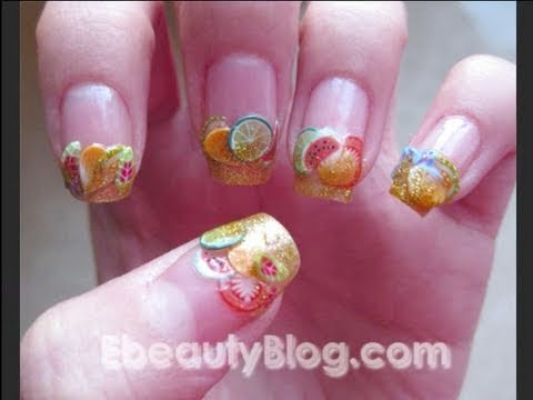 Fimo Nail Art Tutorial