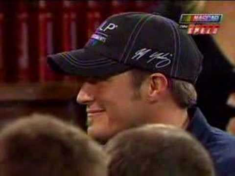 Funny Michael Waltrip at 2008 Bud Shootout Selection Show Video
