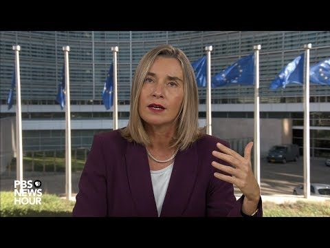 Mogherini warns against U.S. pulling out of Iran nuclear deal