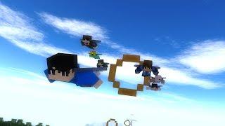 Elytra Race | Minecraft Animation